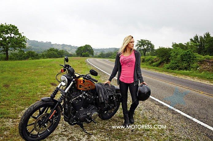 Harley-Davidson Pink Label on MOTORESS