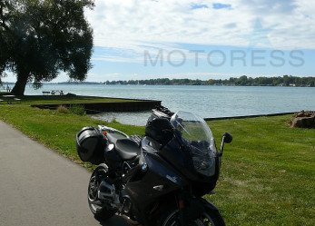 Coastline Motorcycle Cruise Along St. Clair River Shores