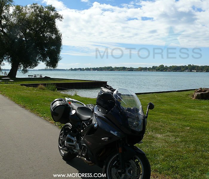 Motorcycle Cruise along the St. Clair River Shores MOTORESS
