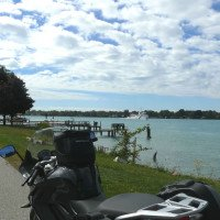 Cruise the St Clair River Shores by Motorcycle - Vicki Gray MOTORESS