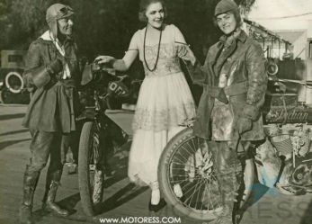 Women Riders Recreate Van Buren Sister's 1916 Motorcycle Journey Across U.S. for 2016
