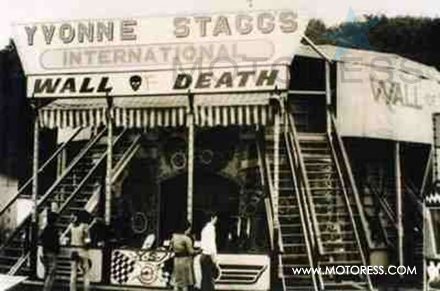 Wall of Death on MOTORESS