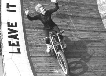 Meet Britain's First Female Wall of Death Star Yvonne Stagg