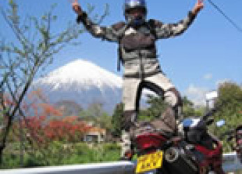 Unforgettable Panama to China; Two Women Two Motorcycles