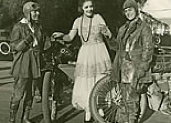 Women Riders Recreate Van Buren Sister's 1916 Motorcycle Journey Across U.S. for 2016