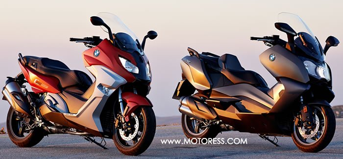 BMW C 650 Sport and C 650 GT Maxi Scooters - MOTORESS
