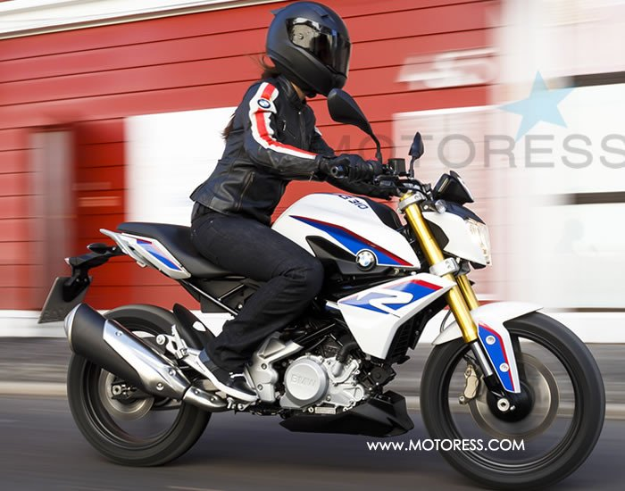 BMW G310R on MOTORESS