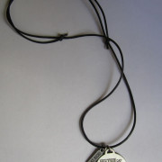 International Female Ride Day Pewter Pendant