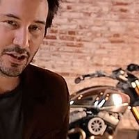 Keanu Reeves for Xmas on MOTORESS
