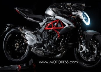 MV Agusta New Brutale 800 Redesigned Yet True to Origins