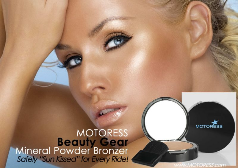 Beauty Gear Mineral Powder Bronzer - Pressed Powder Compact