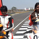 First Ever Women's Motorcycle Race Makes Debut Chennai India