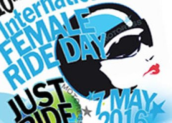 2016 Official International Female Ride Day Logo Celebrates Tenth Year