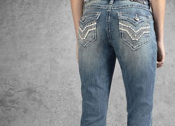 New Women Rider Styled Jeans from Harley-Davidson
