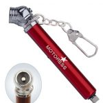 Red MOTORESS Motorcycle Tire Pressure Gauge