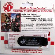 Helmet Medical Data Carrier MOTORESS