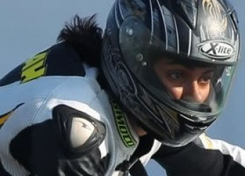Woman Motorcycle Rider Makes Dubai Motorsport History