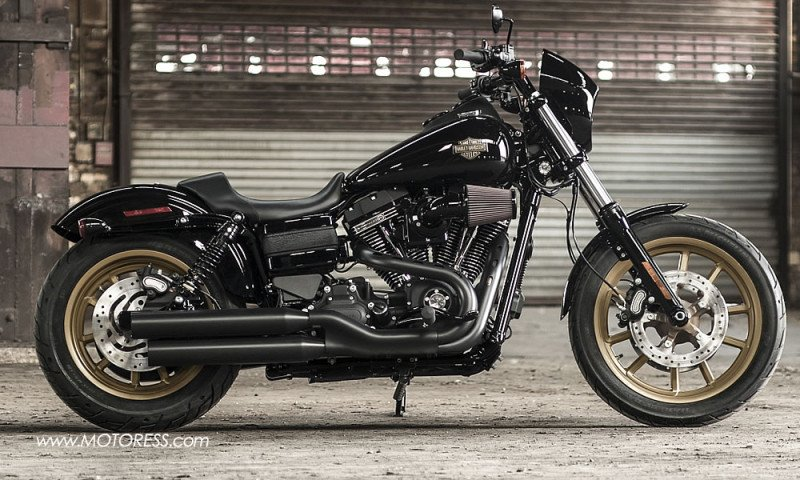 harley-davidson low rider s cruiser performance that's low to the