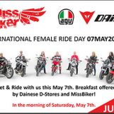 Italy's MissBiker and Dainese D-Stores Team Up For International Female Ride Day