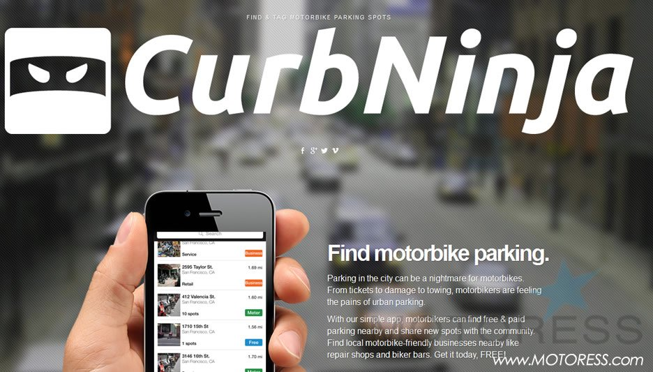 CurbNinja for Riders on MOTORESS