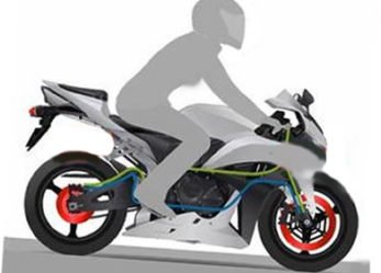 Motorcycle Emergency Stop Look to Horizon for Success