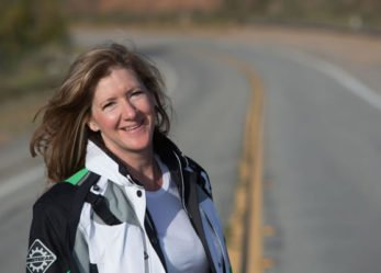 Woman Rider Goes for Record as Longest Distance Traveled by a New Motorcycle Licensee