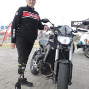 Double Amputee Woman Motorcyclists Riding for Limb's MOTORESS