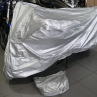 Platinum Shield Motorcycle Cover on MOTORESS