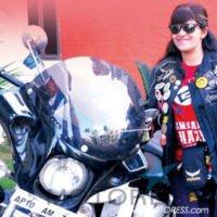 Sana Iqbal Completes Ride - MOTORESS