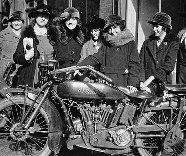 Van Buren Sister's Centennial Motorcycle Ride on MOTORESS