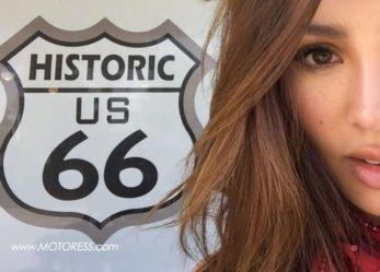 California Girl's Solo Four Corner USA Motorcycle Journey