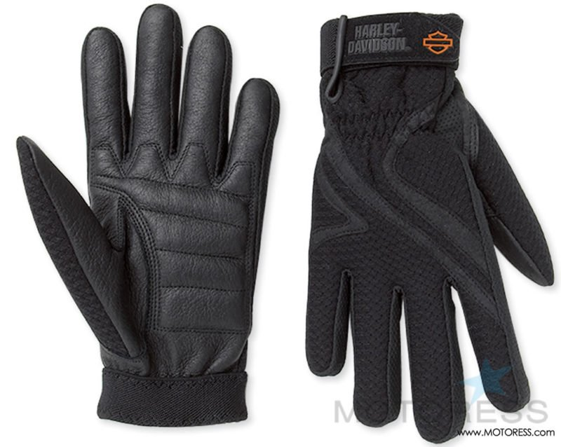 Harley-Davidson Women's Airflow Gloves on MOTORESS