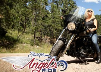 Sturgis Motorcycle Rally Angel's Ride for Women Riders