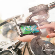 TomTom Rider 400 on MOTORESS
