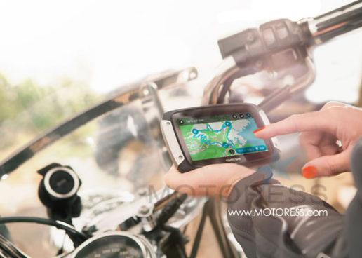 Motorcycle GPS Navigation TomTom Rider 400