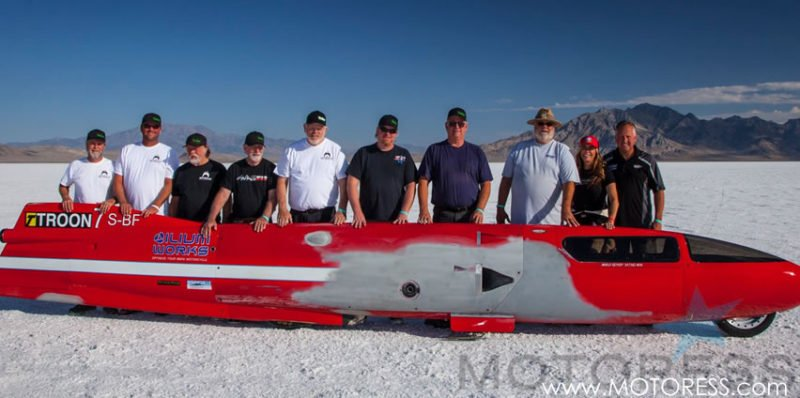 Valerie Thompson Reaches 300 Mph at Bonneville - MOTORESS