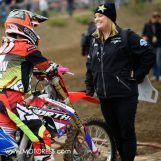 Kourtney Lloyd First Female Team Manager Motocross of Nations