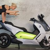 Balance, Poise and Agility, And That's Just The BMW C Evolution