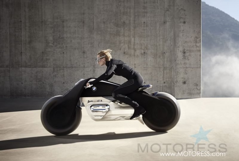 BMW Motorrad VISION NEXT 100 Stands for The Ultimate Riding