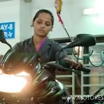 Bangladesh Government Training Women Motorcycle Mechanics