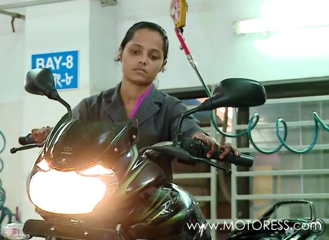 Bangladesh Government Training Women Motorcycle Mechanics - MOTORESS