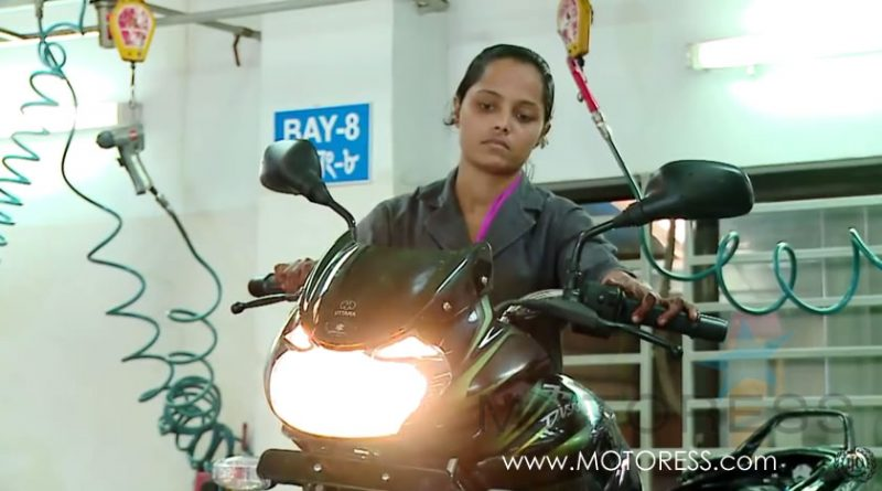 Bangladesh Training Women Motorcycle Mechanics - MOTORESS