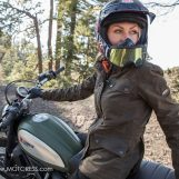 Roland Sands 'Ginger' Women's Motorcycle Jacket