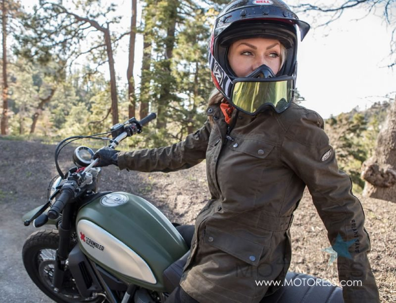 Roland Sands Ginger Women's Motorcycle Jacket on MOTORESS