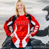 Ducati Globetrotter 90th Round World Challenge Only Woman Rider Finishes Stage