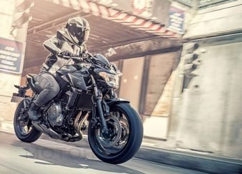 2017 Kawasaki Z650 Light, Nimble Raw Refined Look