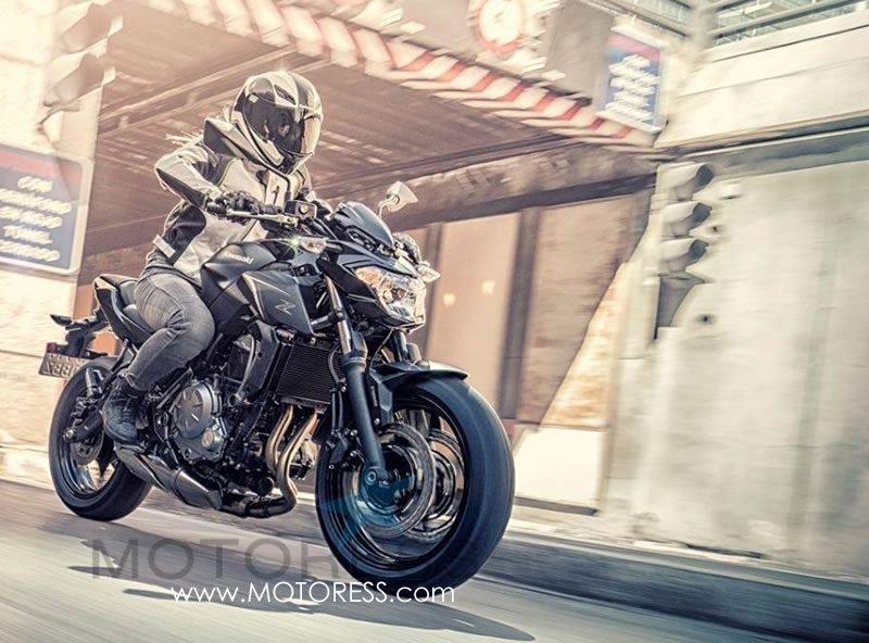 Kawasaki Z650 on MOTORESS