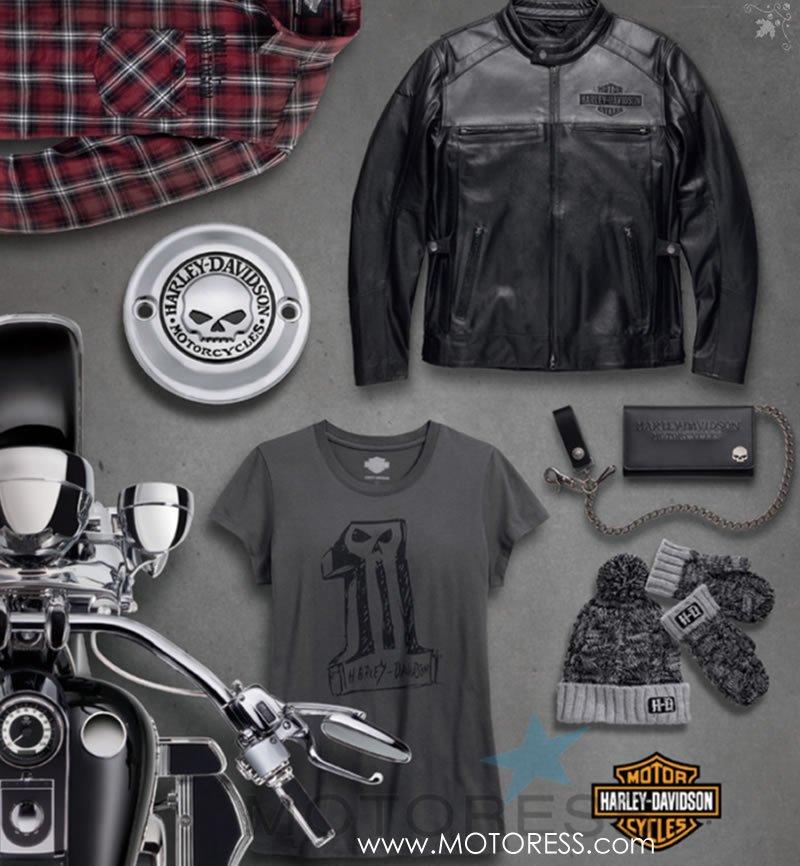 Harley-Davidson Christmas Gift Guide on MOTORESS