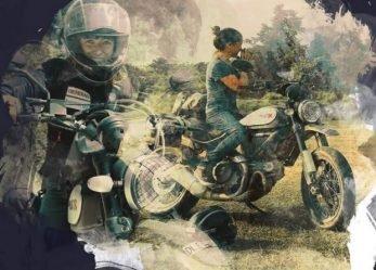 Natural Born Lady Rider Metzeler Calendar Tribute to Women
