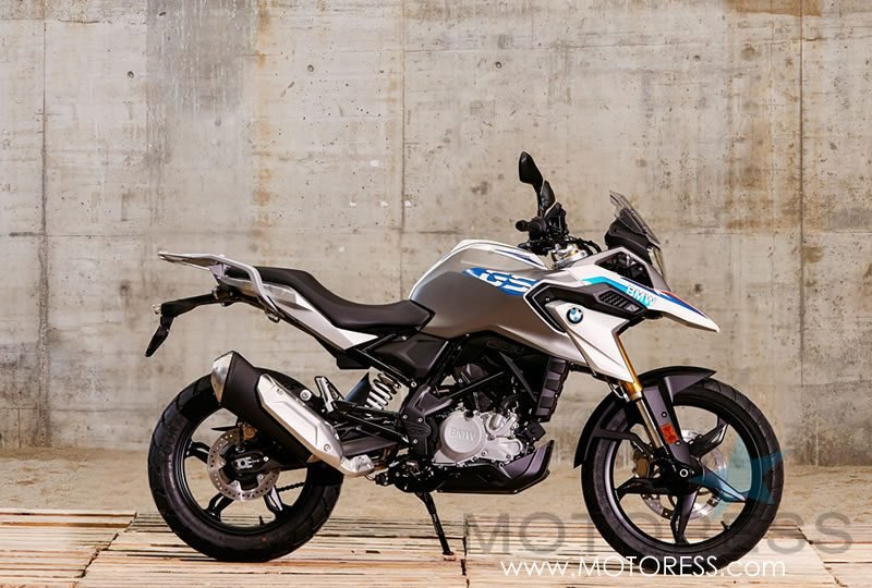 New BMW G310 GS on MOTORESS